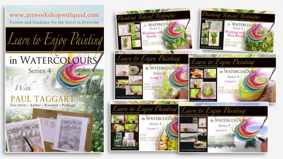 'On-going, Build-up Course - '[Series 4] Learn to Enjoy Painting in Watercolours with Paul Taggart'