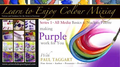 Latest News and Tutorials from Paul Taggart's 'artworkshopwithpaul' studio